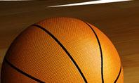 Basketball on Floor Presentation Template