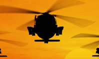 Helicopters at Sunset Presentation Template