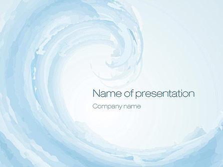 Pastel blue wave presentation template for powerpoint and keynote pastel blue wave presentation template master slide toneelgroepblik Gallery
