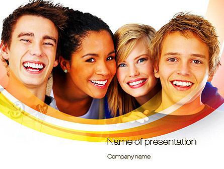 High School Students Presentation Template, Master Slide