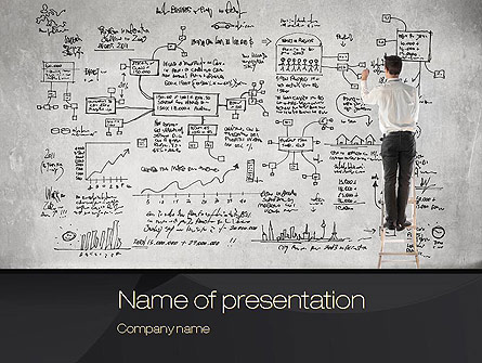 strategic planning presentation template for powerpoint and, Presentation templates