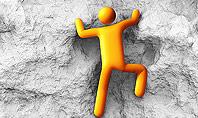 Courageous Climber Presentation Template