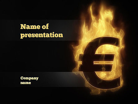 Eurozone Crisis Presentation Template, Master Slide