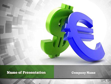 Currency War Presentation Template, Master Slide