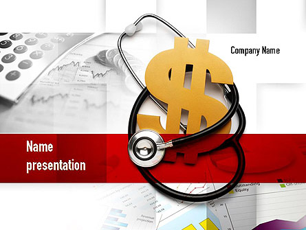 Medical Reform Presentation Template, Master Slide