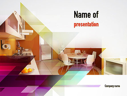 kitchen design presentation template for powerpoint and keynote ppt star