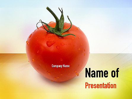 Natural Nutrition Presentation Template, Master Slide