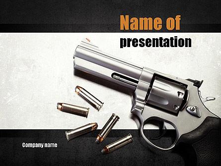 Gun Presentation Template, Master Slide