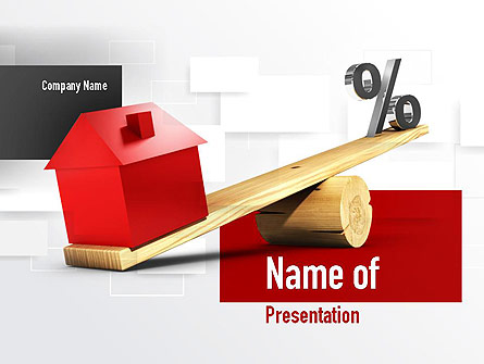 Interest and Principal Presentation Template, Master Slide