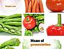Different Vegetables Collage slide 1