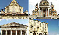 Turin Landmarks Collage Presentation Template