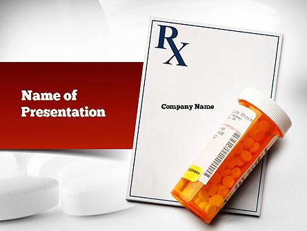 Prescription Drugs Rx Presentation Template For Powerpoint