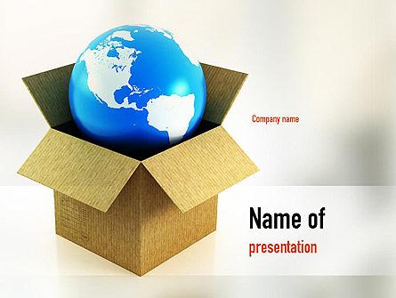 Global Supply Presentation Template, Master Slide