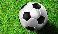 Soccer Ball Near Line Presentation Template