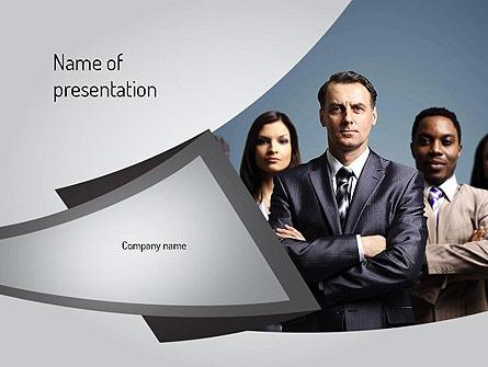 Business People Presentation Template, Master Slide