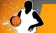 Basketball Man Presentation Template