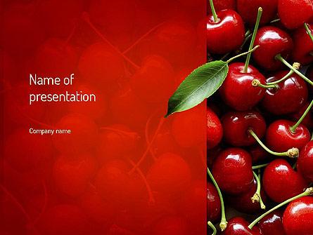 Cherries Presentation Template, Master Slide