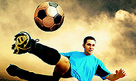 Soccer Collage Presentation Template