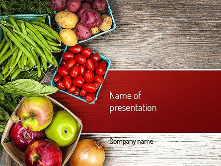 Fruit and Veg Presentation Template, Master Slide