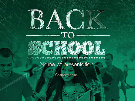 welcome back to school presentation template for powerpoint and, Powerpoint templates