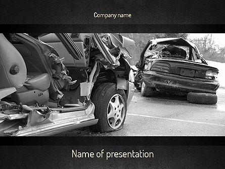 Auto Accident Presentation Template, Master Slide