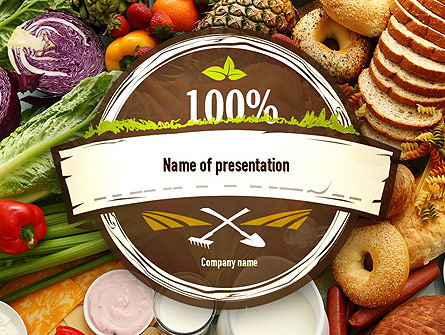 Abundance of food presentation template for powerpoint and keynote abundance of food presentation template master slide toneelgroepblik Images