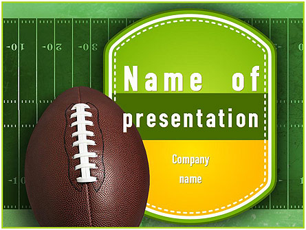 Nfl Super Bowl Presentation Template For Powerpoint And Keynote