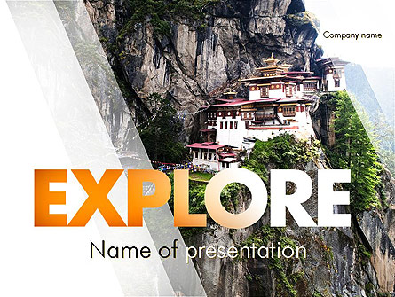 The Tiger's Nest Presentation Template, Master Slide