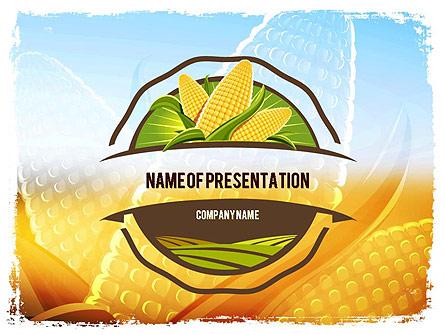 Maize Theme Presentation Template, Master Slide