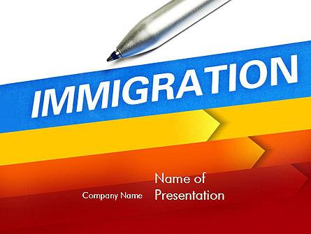 Immigration Presentation Template, Master Slide