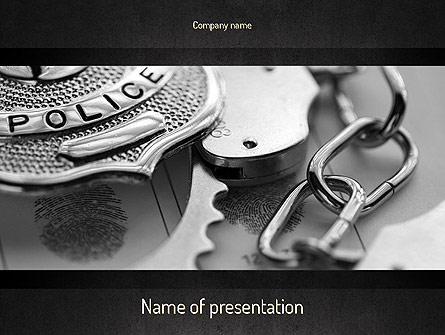 Criminal justice presentation template for powerpoint and keynote criminal justice presentation template master slide toneelgroepblik Choice Image