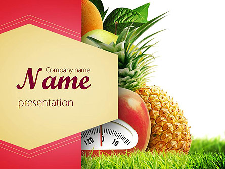 Diet Food Presentation Template For Powerpoint And Keynote Ppt Star