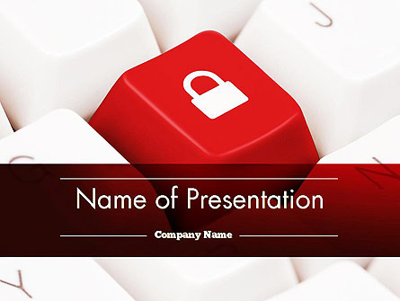 Online Privacy Protection Presentation Template For
