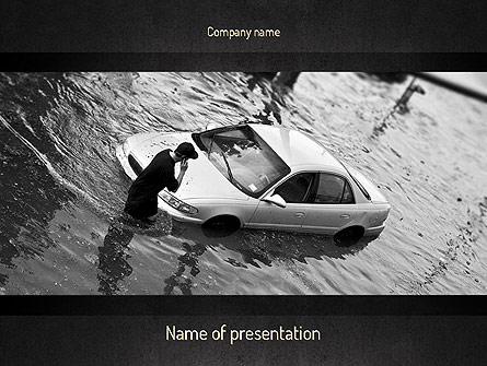 Car flood presentation template for powerpoint and keynote ppt star car flood presentation template master slide toneelgroepblik Image collections