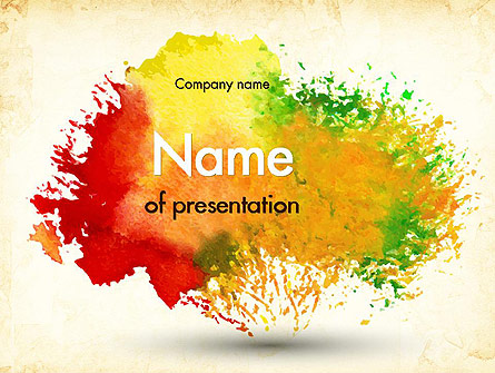 watercolor ppt