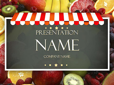 grocery store presentation template for powerpoint and keynote ppt