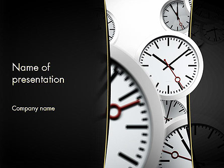 Time management in business presentation template for powerpoint and time management in business presentation template master slide toneelgroepblik Gallery