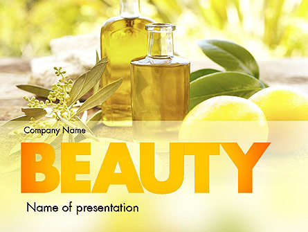 Olive essential oils presentation template for powerpoint and olive essential oils presentation template master slide toneelgroepblik Images