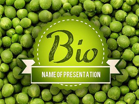 Green Peas Presentation Template, Master Slide