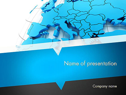 europe map presentation template for powerpoint and keynote | ppt star, Modern powerpoint