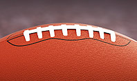 American Football on Grass Presentation Template