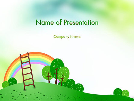 kindergarten theme presentation template for powerpoint and keynote