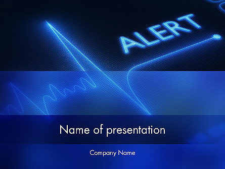 Risk Zone Presentation Template, Master Slide