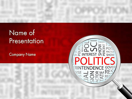 Politics presentation template for powerpoint and keynote ppt star politics presentation template master slide toneelgroepblik