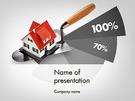 Home Report Presentation Template, Master Slide