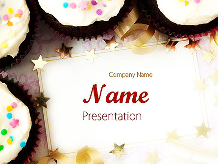 Birthday invitation presentation template for powerpoint and keynote birthday invitation presentation template master slide stopboris Images