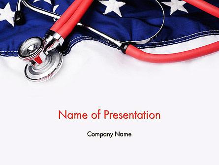 Healthcare Reform Presentation Template, Master Slide