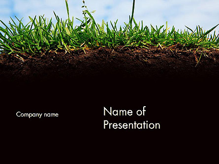 Soil Acidity Presentation Template, Master Slide
