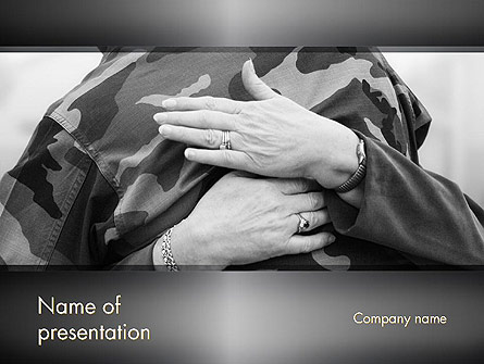 Veterans and Their Families Presentation Template, Master Slide