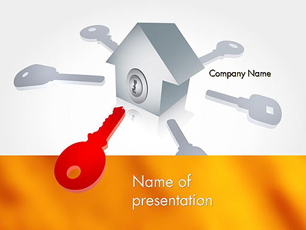 Real Estate Document Management Presentation Template, Master Slide